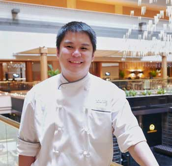 Pastry Chef Alex Chong
