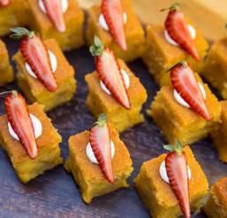 Veneered buttercream carrot cake (supplied photo)