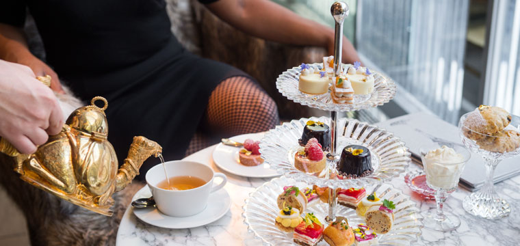 High Tea at Baccarat Hotel New York