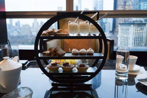 Nata High Tea at the Mandarin Oriental NYC