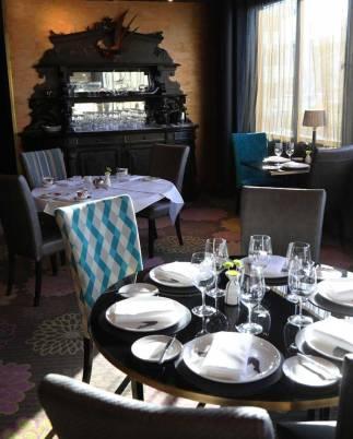 High Tea at the Hippopotamus Restaurant, QT Museum Hotel