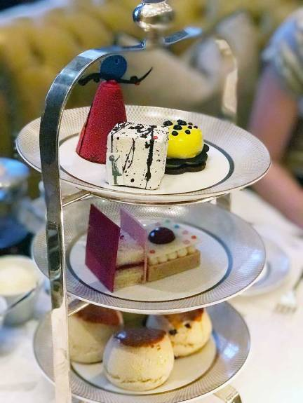 Afternoon Tea in The Mirror Room at Rosewood London