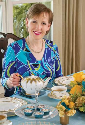 Lorna Reeve, Editor at TeaTime Magazine