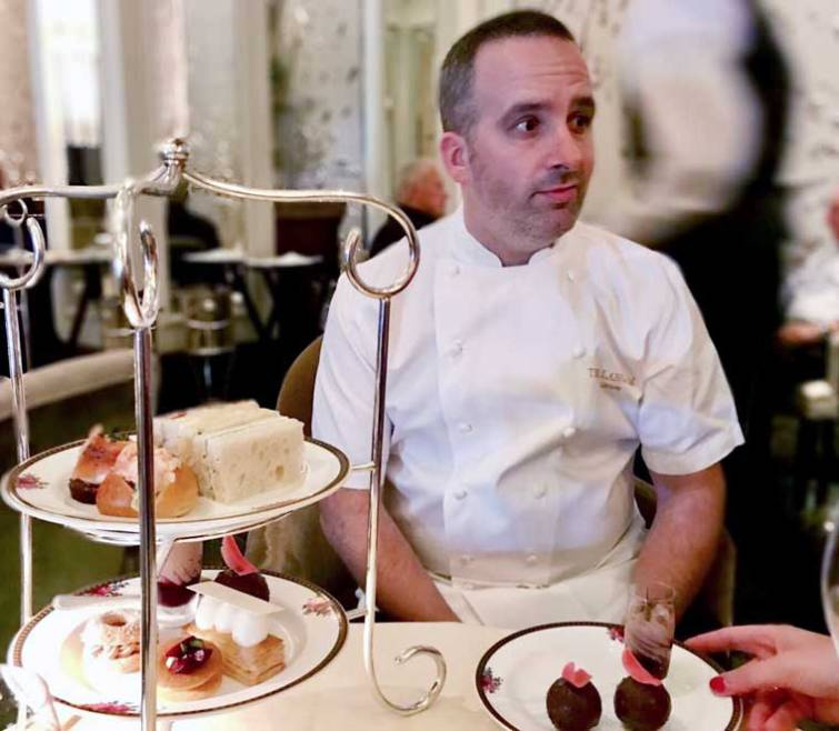 Executive Pastry Chef Andrew Gravett
