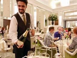 Our waiter Jamie
