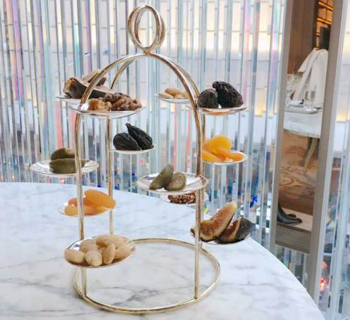 Sultan Abdülaziz Afternoon Tea at Baccarat Hotel New York