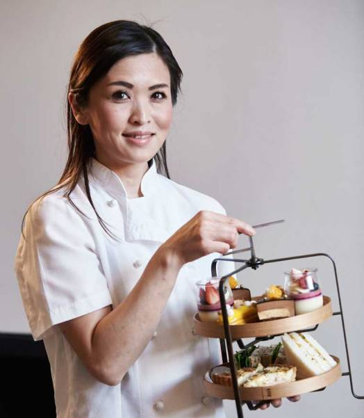 Rika Shiina, Head Pastry Chef at COMO the Treasury, Perth - supplied photo