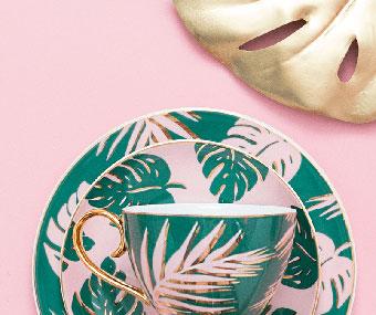 Emerald Island Tea Set from Cristina Re