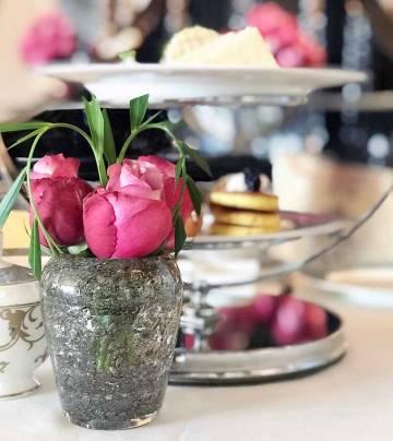 Afternoon Tea at Shai Salon, Four Seasons in Dubai
