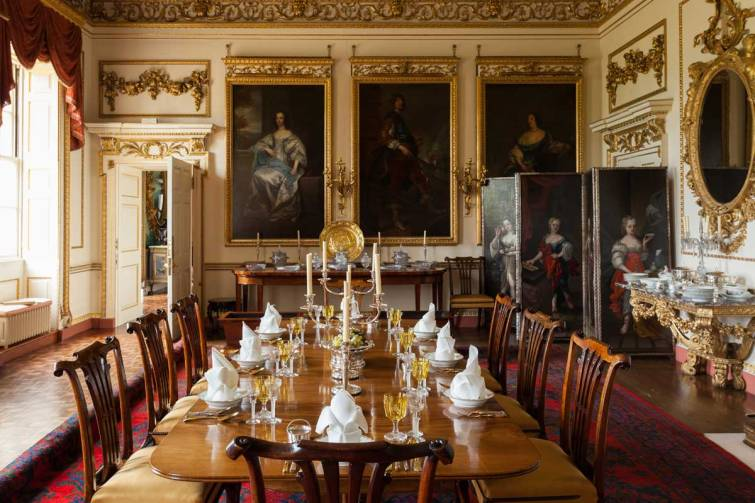 Woburn Abbey State Dining Room