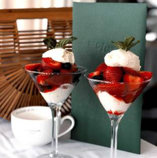 Strawberries and mascarpone (supplied photo)