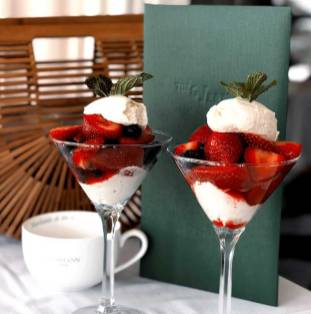Strawberries and mascarpone (supplied photo)