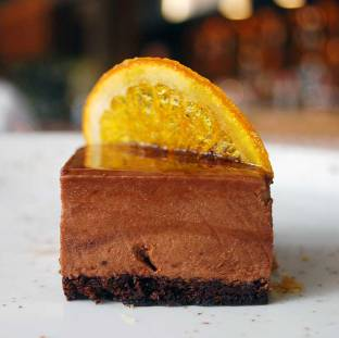 Chocolate and orange torta