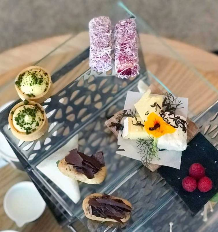 Sweet selection from the High Tea at the W Brisbane