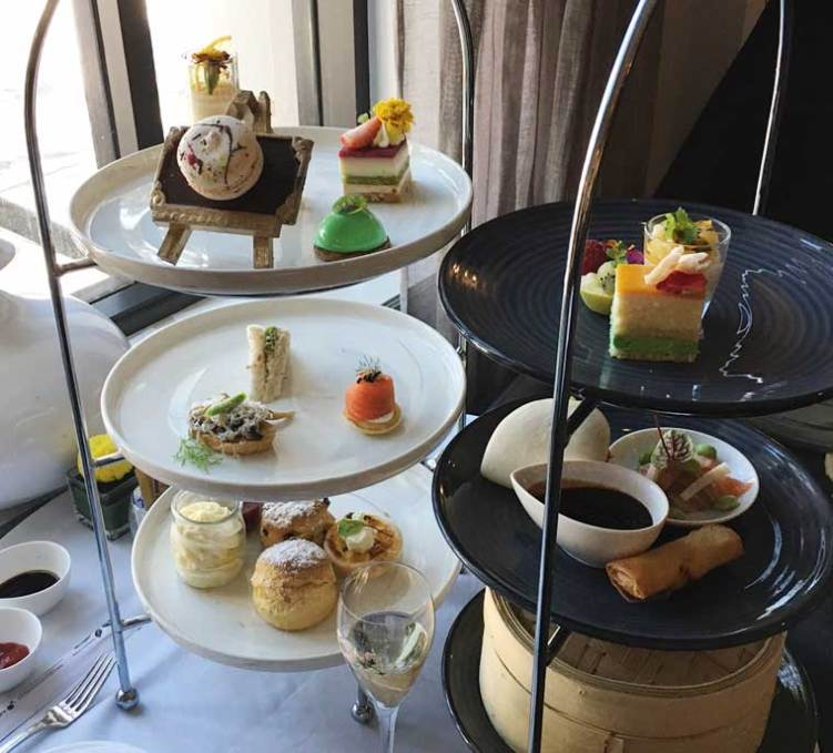 Signature High Tea and the Oriental High Tea