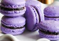 Lavender macaron - supplied photo