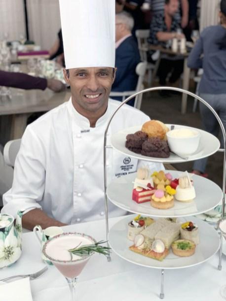 Pastry Chef Karoonen Permall