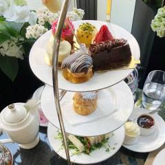 Afternoon Tea on the Montague on the Gardens London