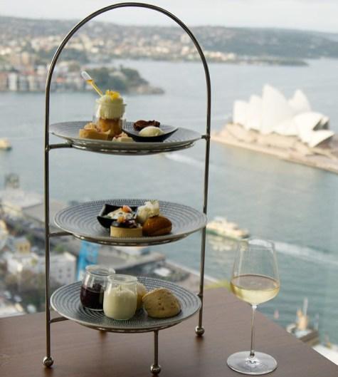 High Tea at Altitude, Shangri-La Hotel Sydney