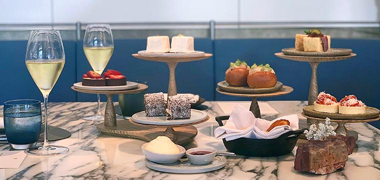 Afternoon Tea at Hearth, Ritz-Carlton Perth