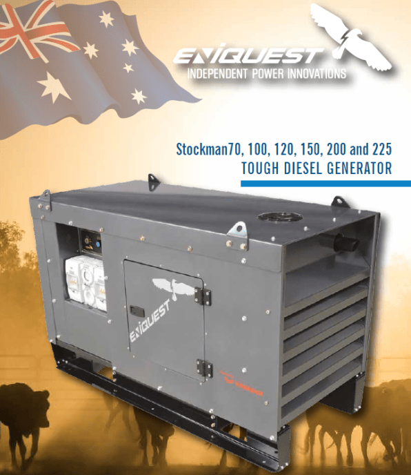 Eniquest Stockman Diesel Generator