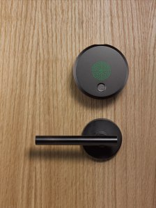 August Smart Lock, a fechadura inteligente