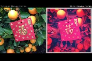 Capa Holga para iPhone com filtros para fotografar