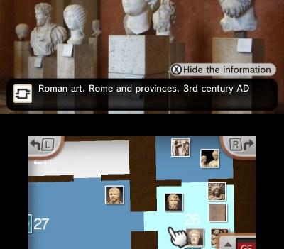 Nintendo 3DS no Louvre