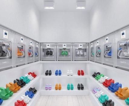 Impressão em 3D. Escolha o modelo e imprima. Cubex Shoeroom