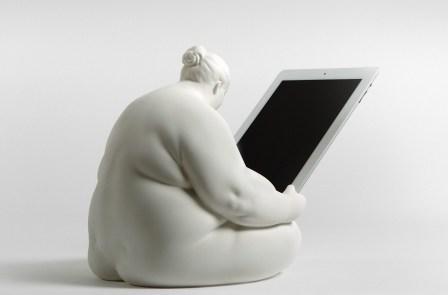 Venus de Cupertino, suporte para ipad
