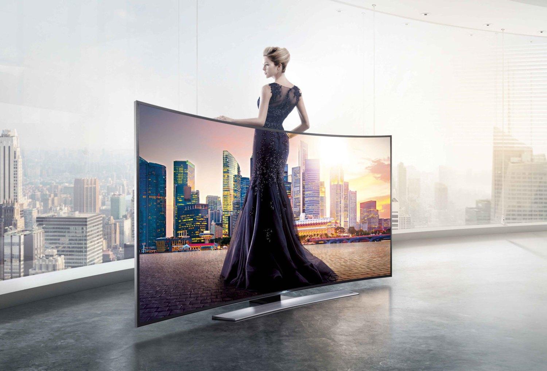 Televisor curvo. Samsung UHDTV Curvo