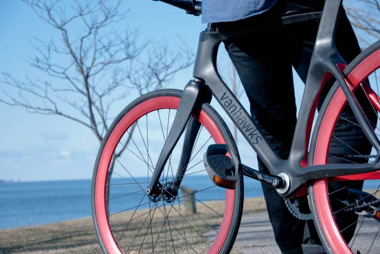 Vanhawks, uma bicicleta conectada