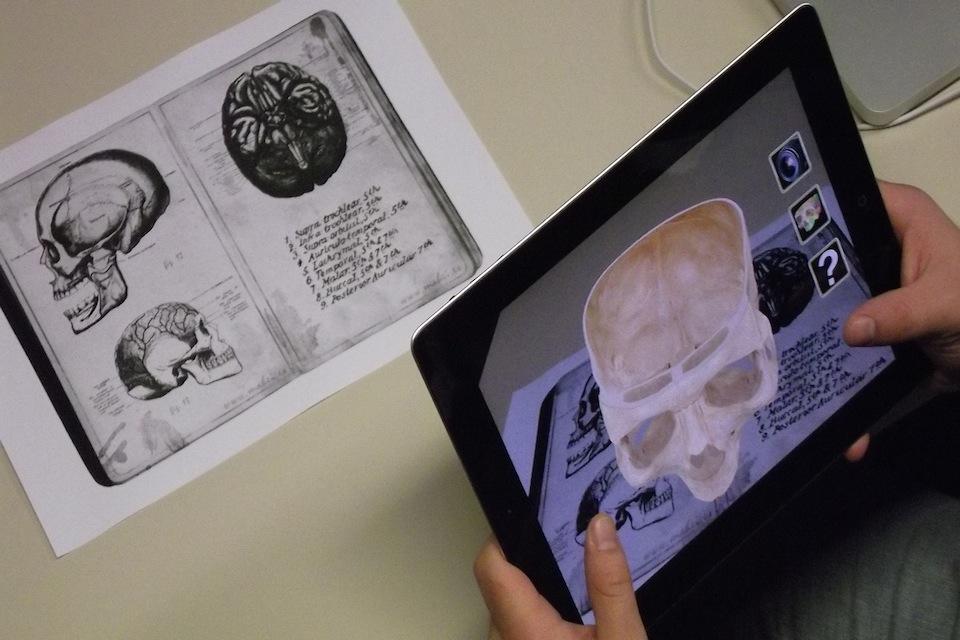 Realidade Aumentada - App_iSkull, Augmented Reality | Wikipedia