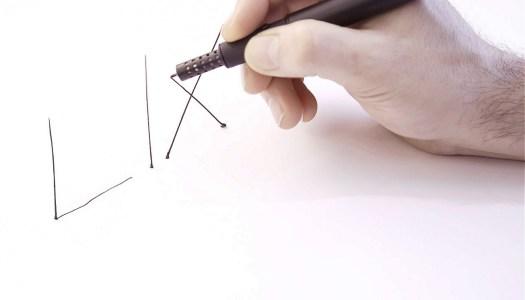 Nova caneta 3D