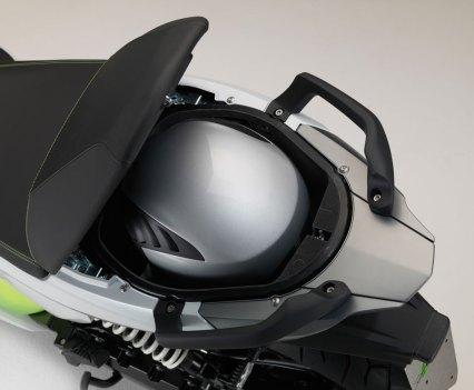 Scooter BMW C Evolution, amiga do ambiente