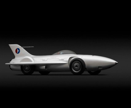 Carros de sonho. 1954, General Motors Firebird I XP-21