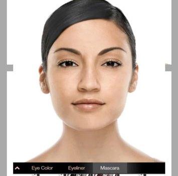 App de beleza. Mary Kay Mobile Virtual Makeover