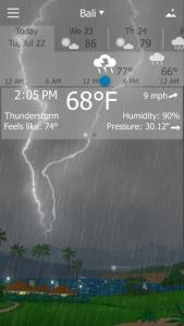 Yo Window. Apps para saber o estado do tempo