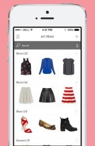 Moda no smartphone. Stylistics ClosetSpace