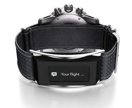 Luxo. Timewalker Urban Speed e-Strap, da Montblanc