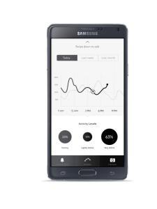 Luxo. App da Timewalker Urban Speed e-Strap, da Montblanc