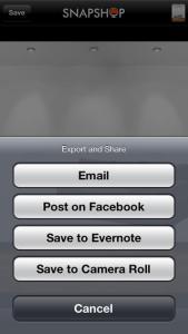 Apps de Decoração. SnapShop