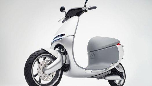 Uma scooter inovadora