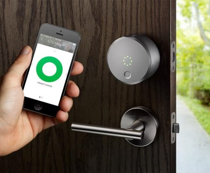 Segurança e tecnologia. August Smart Lock e August Connect