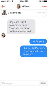 Apps para encontrar um grande amor. Tinder