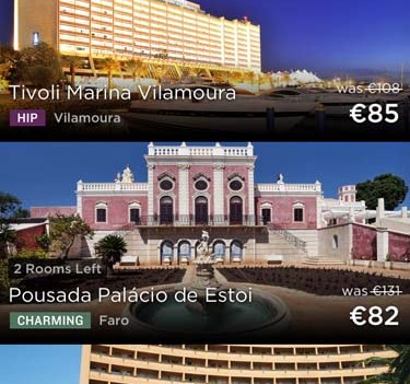 Viajar melhor e mais barato. App HotelTonight. Algarve