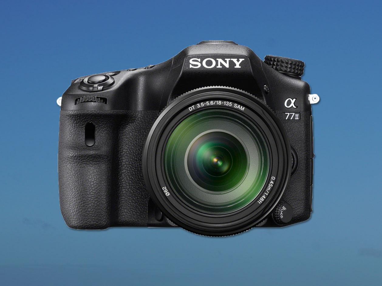 Fotografia. Nova Sony α77 II
