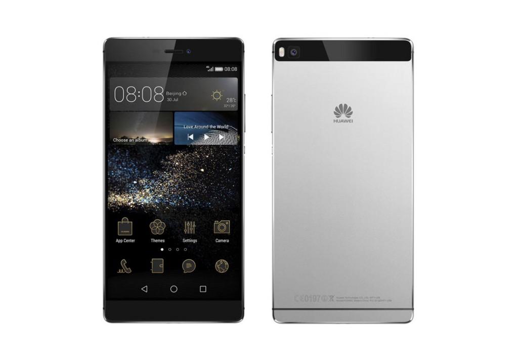 P8, o novo topo de gama da Huawei (na cor cinza)