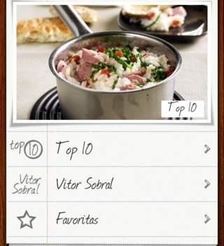 Culinária: 5 chefs em 5 apps. Vitor Sobral