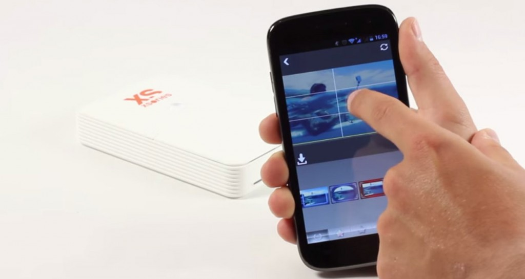 Impressora de bolso XSories Pixsprint Wifi